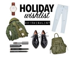 """wishlist - 2015"" by hasyasofiya ❤ liked on Polyvore featuring Zara, Jeffrey Campbell, Topshop, Bobbi Brown Cosmetics, Daniel Wellington, contestentry and 2015wishlist"