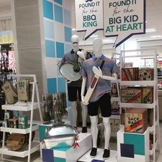 """DEBENHAMS, London, UK, """"Mum,when can I give Daddy his Father's Day  card?........ Thursday Dear, when he delivers the milk"""", (Father's Day), pinned by Ton van der Veer"""