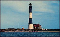 Postcard: Fire Island, Long Island, N.Y. Fire Island Lighthouse by fantomaster, via Flickr