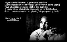 MARTIN LUTHER KING JR sözleri