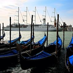 No trip to Venice, #Italy is complete without gondolas. #WindstarCruises