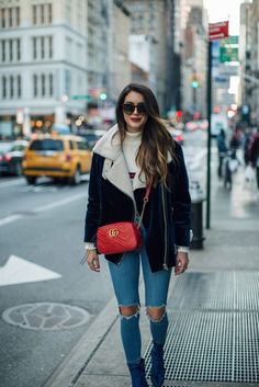 Stay cozy and chic this Winter by mastering your layering technique like Brittany Xavier of Thrifts and Threads.