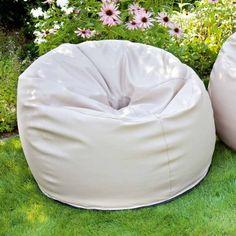 #Outdoor #Sitzsack von Outbag - Donut: Deluxe Skin Kiesel