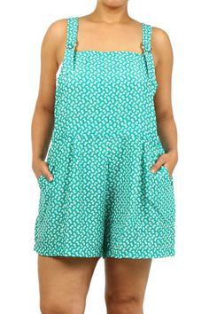 gogetgretta - Plus Size Overall Style Shorts Jumper, $39.00 (http://www.gogetgretta.com/plus-size-overall-style-shorts-jumper/)