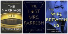Reading List - May 2018. Book recommendations - psychological thrillers