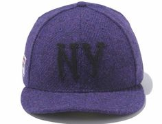 6cfe9943ec008 Purple Harris Tweed NY Highlanders 59Fifty Fitted Cap by NEW ERA x MLB  Fitted Baseball Caps