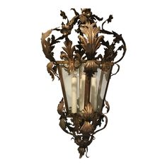 Outdoor Wall Lighting, Exterior Lighting, Vincent Van Gogh, Art Nouveau, Metal Art Projects, Lantern Post, Art Deco Lamps, Hanging Lanterns, Antique Lighting