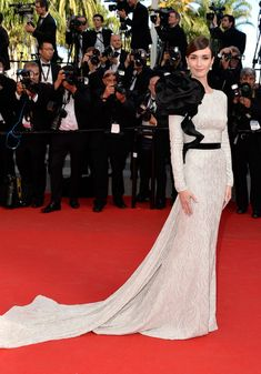 Paz Vega in Ralph & Russo, 2014 - The Most Daring Dresses on the Cannes Red Carpet - Photos