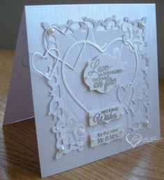 Love Story Wedding Card by darbaby - Cards and Paper Crafts at Splitcoaststampers