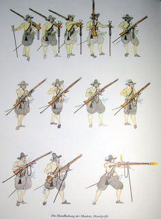 Handgriffe an der Muskete                                                                                                                                                                                 More