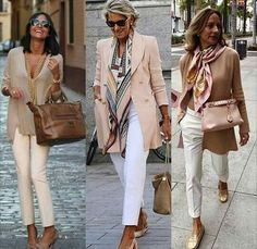 Loving all of these smart casual business looks. - #Business #Casual #Loving #ov... - #Business #casual #looks #loving #smart #these Over 60 Fashion, Mature Fashion, Over 50 Womens Fashion, Fashion Over 50, Look Fashion, Fashion Fashion, Fashion Quiz, Modest Fashion, Retro Fashion