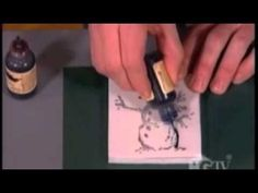 Tim Holtz shares this blast from the past is his most memorable episode on the Carol Duvall Show...