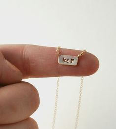 Custom Itty Bitty Bar Necklace | Jewelry Necklaces | Make Pie Not War | Scoutmob Shoppe | Product Detail