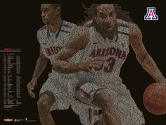 2011-12 Arizona Basketball Schedule Poster