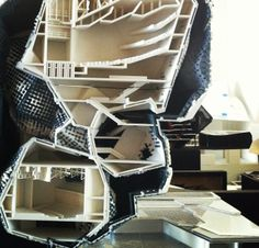 @ Sci Arc 004 Architecture Model Making, Architecture People, Architecture Drawings, Concept Architecture, Modern Architecture, Parasitic Architecture, Sci Arc, Arch Model, Parametric Design