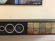 Sideboard mit Italienischen Fliesen und einer unglaublichen Stimme.  #audiovideocenter #Pura Bango #Talsee Entertainment System, Apple Tv, Aluminium, Artisan, Cabinet, Storage, Furniture, Home Decor, Italian Tiles
