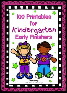 Need something to challenge your gifted and talented students who finish early? Are they always crying out for enrichment? If so, then this packet of 100 printable activities is perfect for your classroom! The work is split into MATH, CREATIVE THINKING, ENGLISH, WRITING and DRAWING... along with some fun puzzles at the end! A cover page is included if you wish to make the worksheets into a booklet.