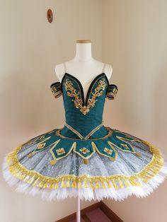 Green and Gold Esmeralda | Dancewear by Patricia