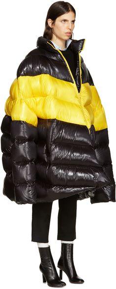 https://www.ssense.com/en-us/women/product/raf-simons/black-down-oversized-coat/1642443