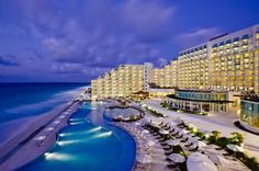 Le Blanc Spa Resort, Cancun, Mexico. AAA 5 diamond rated, Traveler´s Choice Award 2011 Top 10 All Inclusive Resorts in the World,Traveler´s Choice Award 2011 Top 10 Luxury Hotels in the Caribbean & Mexico. Need I say more?