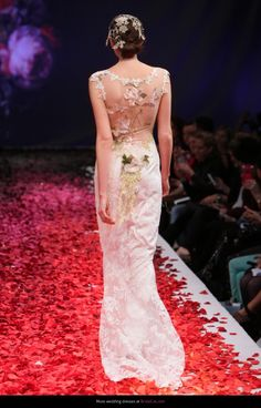Wedding dress Claire Pettibone Papillion Still Life - AllWeddingDresses.co.uk