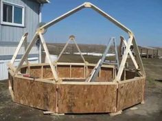 DIY Building a Homemade Geodesic Dome Greenhouse