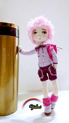 #crocheting #crochet #flowers #doll #編織 #毛線娃娃 #毛線 #手作り #編みぐるみ #handmade #crochetdoll #diy