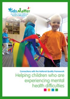'Connections with the National Quality Framework: Helping children who are experiencing mental health difficulties.' Go here to download the free eBook: https://www.kidsmatter.edu.au/early-childhood/resources-educators-and-families/ebooks #NQF