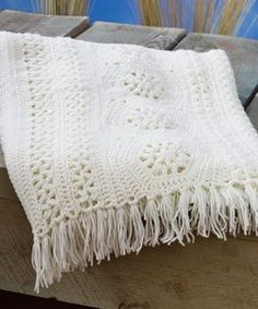 Keeping it Classic Crochet Afghan Pattern