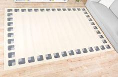 pin von havatex gmbh auf elegante graue teppiche pinterest teppiche grauer teppich und. Black Bedroom Furniture Sets. Home Design Ideas