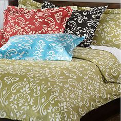 Sicily 3-Piece Duvet Cover Set | Overstock.com Shopping - The Best Deals on Duvet Covers