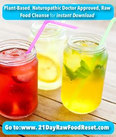 21 Day Raw Food Reset Cleanse by YoungandRaw.com