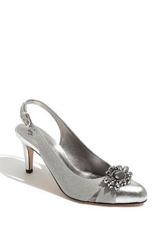J. Reneé 'Melody' Pump   Nordstrom  medium only, offers silver or pewter, heel2.5 $105