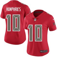 Women's Nike Tampa Bay Buccaneers #10 Adam Humphries Limited Red Rush NFL Jersey