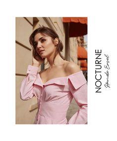 """Nocturne on Instagram: """"Pastel renkler, romantizmle iç içe yenilikçi kesimler... @handemiyy ile yeni #Nocturne koleksiyonunu keşfet: www.nocturne.com.tr -…"""""""