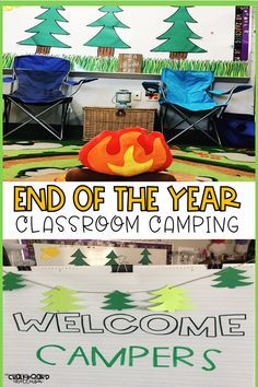 End of the Year Camping Activities Are you looking for a fun way to keep your students engaged the last week of school? This pack will help you TRANSFORM your classroom into a