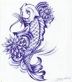 Tatuaes de Pez Koi COMPLETISIMO ~ Fotos de Tatuajes