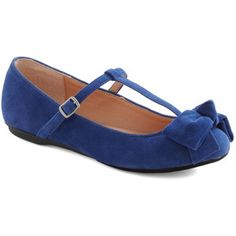 Boutique My Interest Flat in Blue