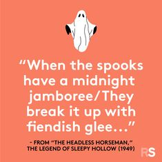 Famous Halloween Quotes, Sayings, Phrases