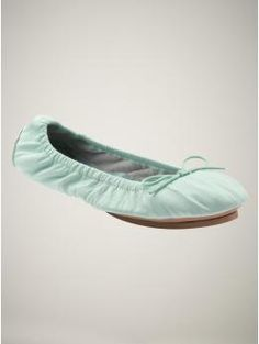 Love these Gap City Flats...I have always had a weird obsession with mint colored shoes.