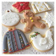 ご注文頂いたオーナメントクッキーを 素敵に飾っていただいたお写真♡