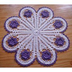 Carpetas tejidas al crochet paso a paso - Imagui
