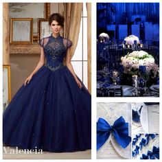 Quinceanera Theme Ideas | Quinceanera Dress Blue |