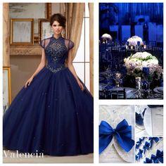 Quinceanera Theme Ideas | Quinceanera Dress Blue |