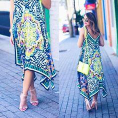 Now on G&G (link in profile ):: a summer swing dress that is less than $35!! Shop it here www.liketk.it/1D36m #liketkit #LTKunder50 @liketoknow.it by glitterandgingham
