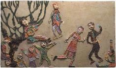 violeta parra, a chilena que conquistou o mundo Textiles, Aboriginal Art, Textile Art, Hand Embroidery, Stitch, Crafts, Painting, Inspiration, Museum