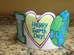 Earth Day Freebie! Includes Headband