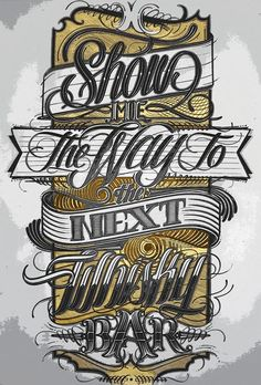 Show me the way... #handwriting #lettering #typographydesign #inspiration