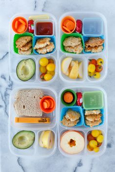 Leftovers packed up for lunch! | packed in #EasyLunchboxes container