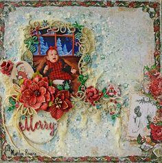 December Inspiration & Video Tutorial by Marilyn Rivera